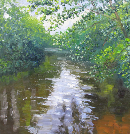 Colin Halliday, Summer River, 2016