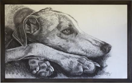 Sophie Ryder, Luigi Head with Foot, 2017