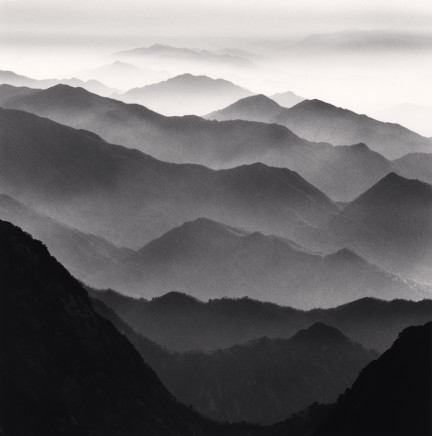 Michael Kenna, Huangshan Mountains, Study 42, Anhui, China, 2010