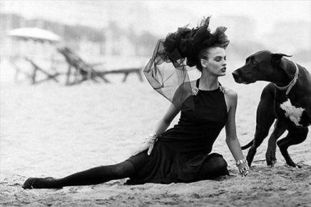 Peter Lindbergh, Linda Evangelista, Italian Vogue , 1986