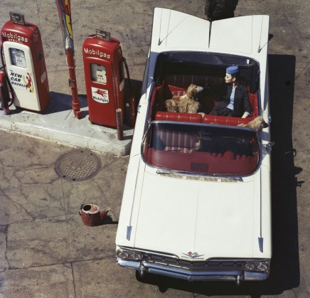 William Klein, Chevrolet Impala + Gas Pumps, 6th Avenue, New York , 1959