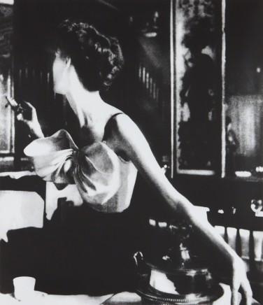Lillian Bassman, Across the Restaurant, Paris, Harper's Bazaar, 1949