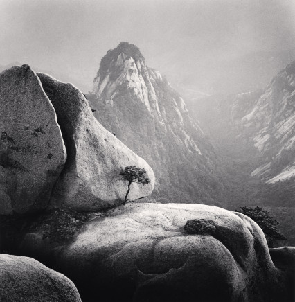 Michael Kenna, Huangshan Mountains, Study 27, Anhui, China, 2009