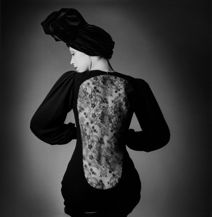 Jeanloup Sieff, Dress by Yves Saint Laurent, Paris, Vogue, 1970