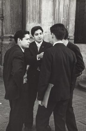Sergio Larrain, School boys, Santiago, Chile