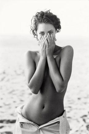Peter Lindbergh, Christy Turlington, American Vogue, 1999