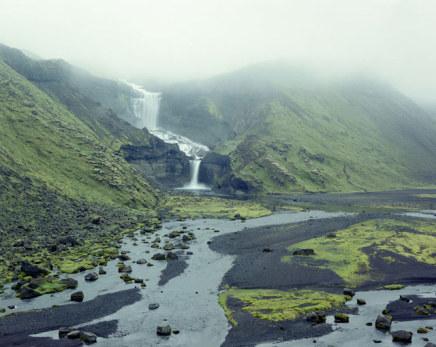Olaf Otto Becker, Ófaerufoss waterfall, 07/2000