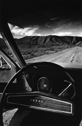 Jeanloup Sieff, Death Valley, California, 1977