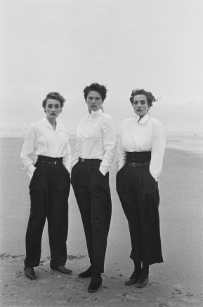 Peter Lindbergh, Lynne Koester, Marie-Sophie Wilson, Tatjana Patitz, 1987