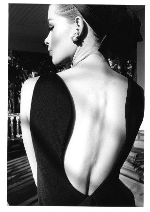 Jeanloup Sieff, Astrid Heeren, dress by Bill Blass, Palm Beach, Harper´s Bazaar, 1964
