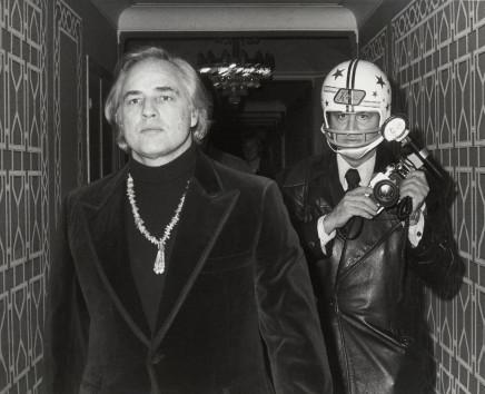 Ron Galella, Marlon Brando