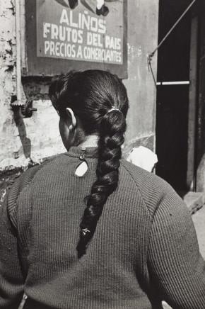 Sergio Larrain, Untitled (Woman's thread), Chile