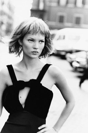 Peter Lindbergh, Kate Moss, Rome, Harper's Bazaar, 1994