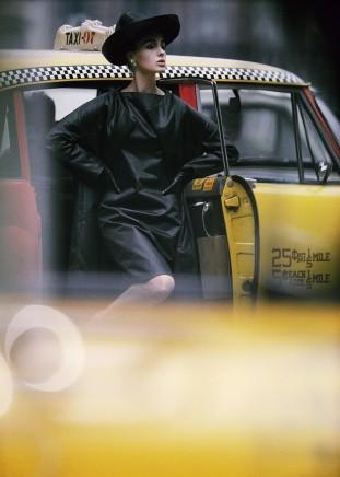 William Klein, Antonia + Yellow Taxi, New York, 1962