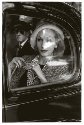 Jeanloup Sieff, Denise Saurrault, Monte Carlo, Jardin des modes, 1960