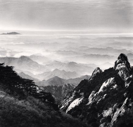 Michael Kenna, Huangshan Mountains, Study 51, Anhui, 2017