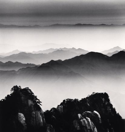 Michael Kenna, Huangshan Mountains, Study 12, Anhui, 2008