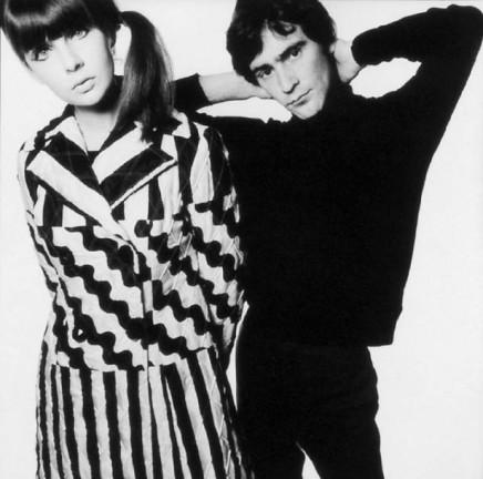 David Bailey, Chrissie Shrimpton and Ossie Clark, 1965