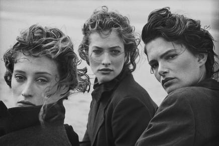 Peter Lindbergh, Marie-Sophie Wilson, Tatjana Patitz, Lynne Koester, 1987