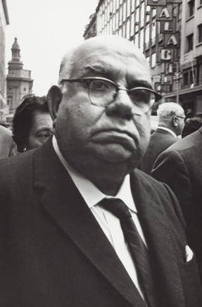 Sergio Larrain, Untitled (Man in the road), Chile