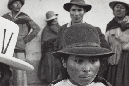 Sergio Larrain, Village of independence, Bolivia, 1958