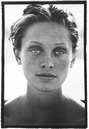 Peter Lindbergh, Berri Smither, El Mirage, California, U.S.A., Harper's Bazaar, 1993