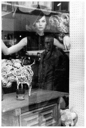 David Bailey, Jean Shrimpton, 1963