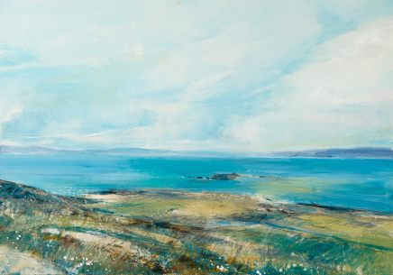 Sarah Carrington, Towards Mull, from Iona