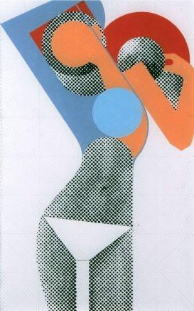 Gerald Laing, KM (Kate Moss) - framed, 2008