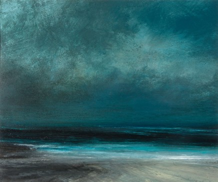 Ruth Brownlee, Evening Twilight on Quendale Beach
