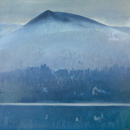 Jane MacNeill, Grey Peak with Reflection