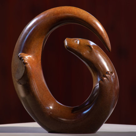 Laurence Broderick, Sandaig otter maquette iv