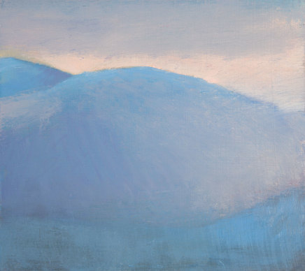Jane MacNeill, Above Glen Feshie study, 2019