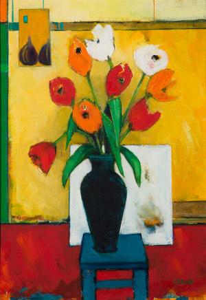 Liz Knox, Tulips, 2019