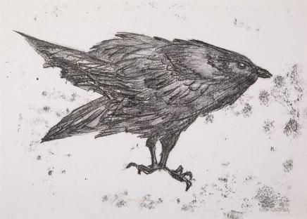 Helen Denerley, Raven ii, 2019