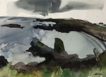 Kate Downie RSA, Catterline Bay