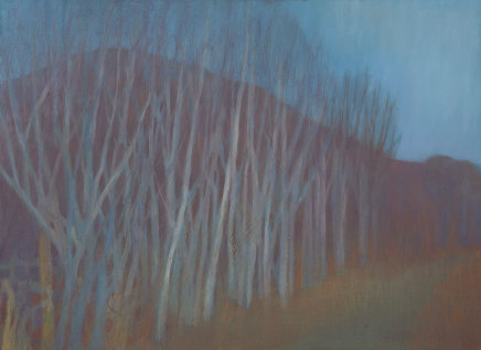 Jane MacNeill, Red Hill and Winter Trees