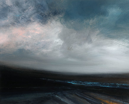 Ruth Brownlee, Coarse Dusk Gale: Whale Firth, Yell