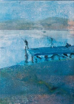 Kate Downie RSA, Dusk Fisherman, Bicheno