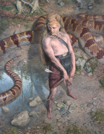Paul Reid, Apollo and Python, 2015