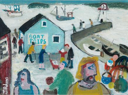James Newton Adams, Boat Trips