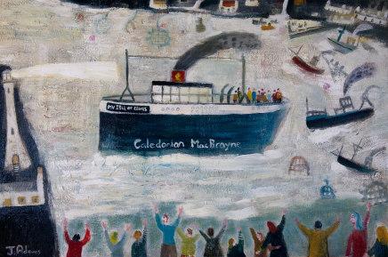 James Newton Adams, Hooray for the Sunday Ferry