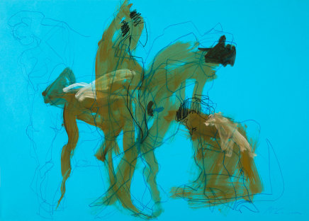 Alan McGowan, Topaz in movement, 2019