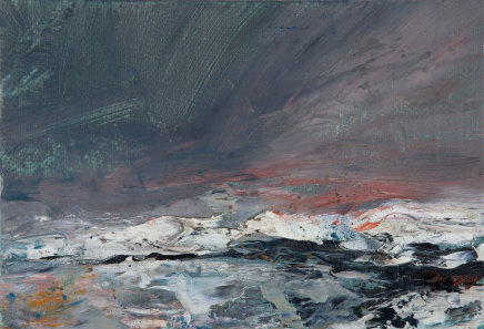 Janette Kerr, Sitting in the snow - Shalder's Arye
