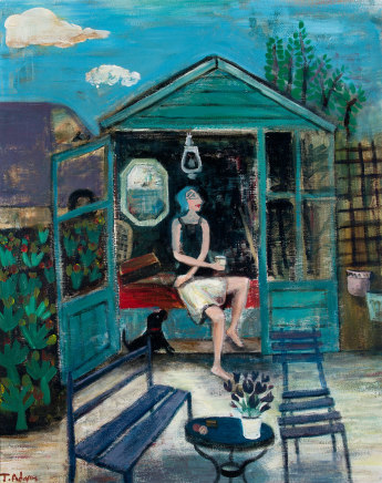 James Newton Adams, The she shed
