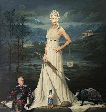 Alan Macdonald, A Dame with No Shame, 2015