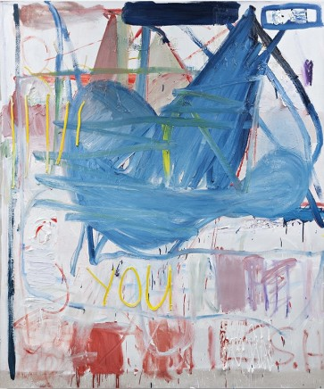 Sebastian Helling, Untitled (Too Blue), 2014