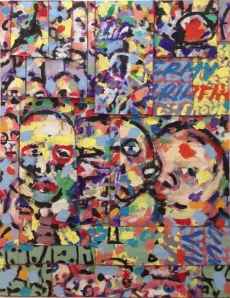 Cheikhou BA, Untitled (2), 2018