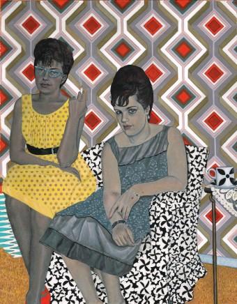 Soheila Sokhanvari, Two Serious Ladies, 2015