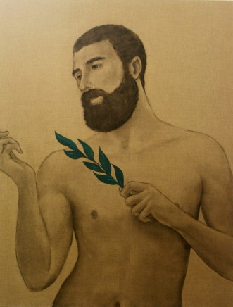 Mathew Tom, Disciple with Leaves, Summer, 2013